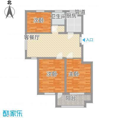 江南雅苑7#楼户型