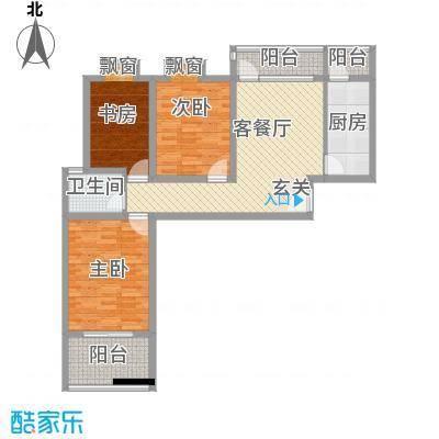 东方・海逸豪园11.10㎡一期C#楼C5户型3室2厅1卫