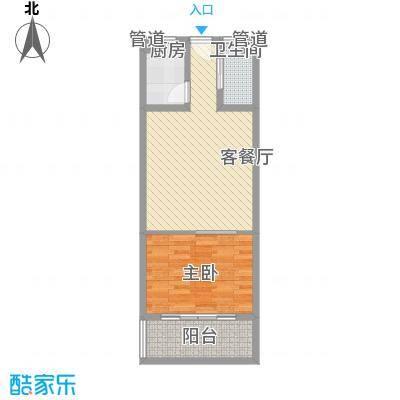 一品苑6.78㎡小户型1室1厅1卫1厨
