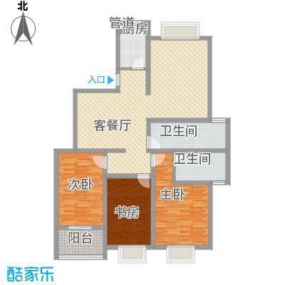 景山秀水16.15㎡C户型3室2厅2卫1厨