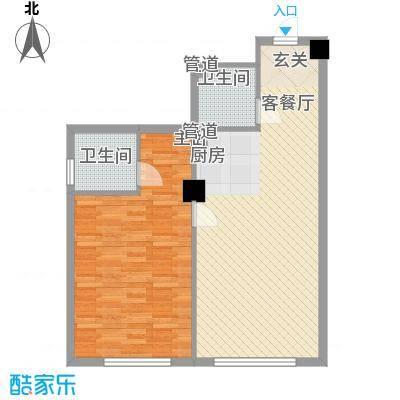 龙禧深蓝公寓户型