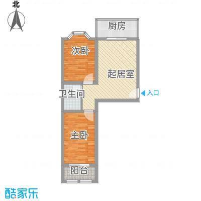 富民家苑7.32㎡A户型3室2厅2卫1厨