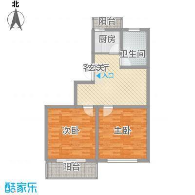 宏基花园G户型2室1厅1卫1厨