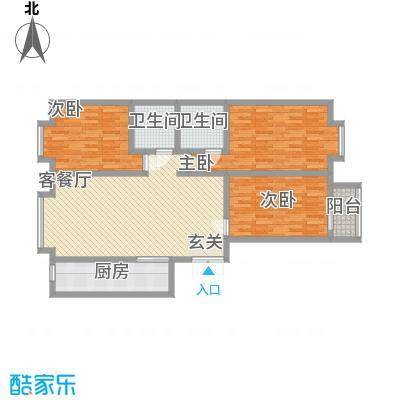 永华新城公寓1-3#D户型