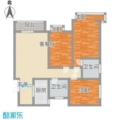 永华新城公寓1-3#C户型