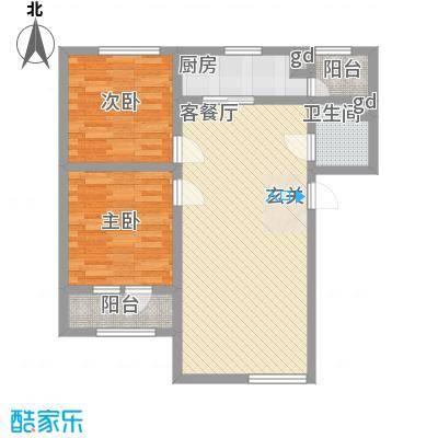 永华新城4#5#东单元1号户型