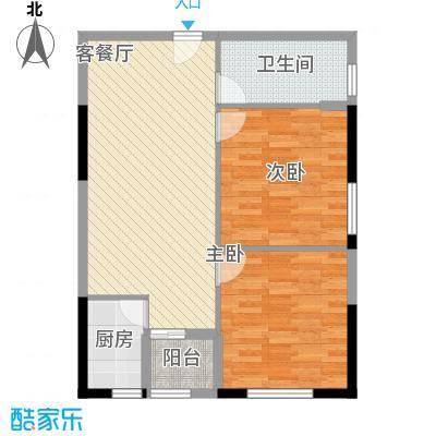 龙旺伯乐佳园88.85㎡A5户型