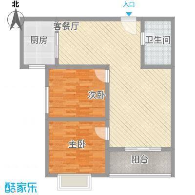 广星源5.40㎡L户型2室2厅