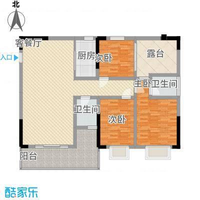 中糖大城小院122.50㎡1#楼C户型