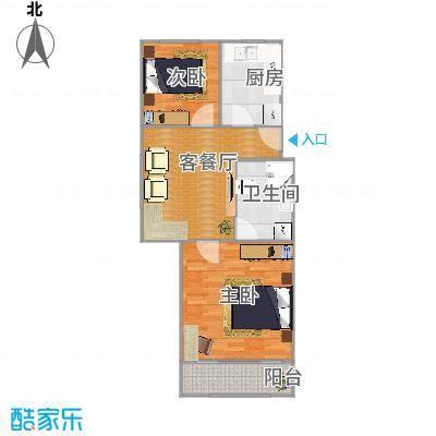 杨家桥小区的户型图-副本