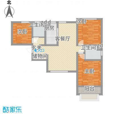 永华新城4#5#东单元4号户型
