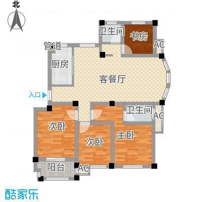 江信国际花园户型4室