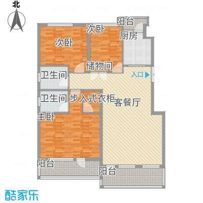 中凯梦之城143.00㎡多层电梯洋房户型