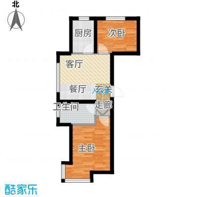 江城文苑7.80㎡高层户型