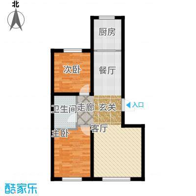 江城文苑6.70㎡高层户型