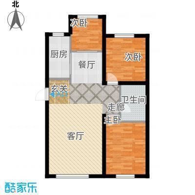 江城文苑17.00㎡高层户型