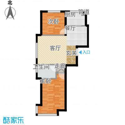江城文苑83.32㎡小高户型