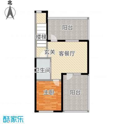 筑石居易d+户型4室3厅2卫1厨