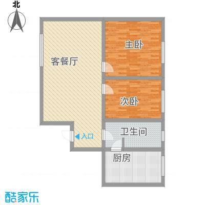 湘江名苑17.57㎡3户型2室1厅1卫1厨