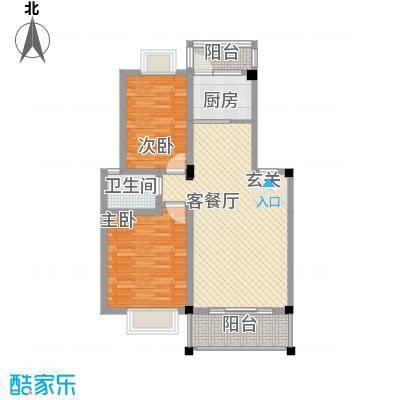 京东小区B区7.00㎡户型2室