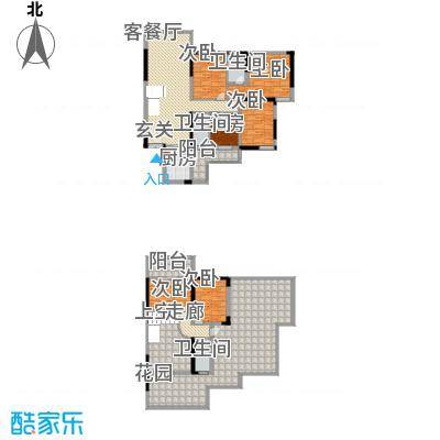 运河佳苑15.00㎡复式G户型6室2厅3卫1厨