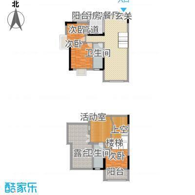 运河佳苑147.00㎡复式E户型3室3厅2卫1厨