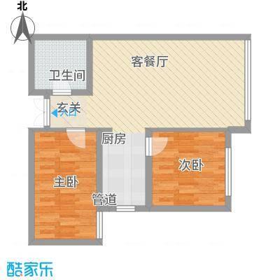 大唐天下江山3号楼、4号楼、5号楼、6号楼标准层江澄户型