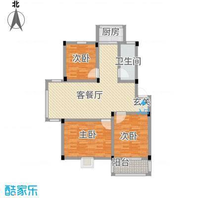 谷阳新村四区3-2户型