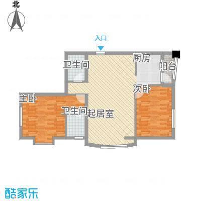 福顺江山14.23㎡户型