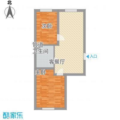 高新花园7.00㎡6#-8#楼Q户型