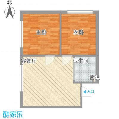 高新花园6.00㎡5#楼P户型