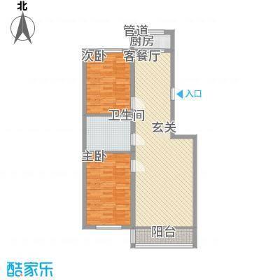 金丰紫馨花园5.00㎡85--户型