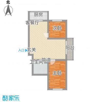 金丰紫馨花园8.00㎡75--户型