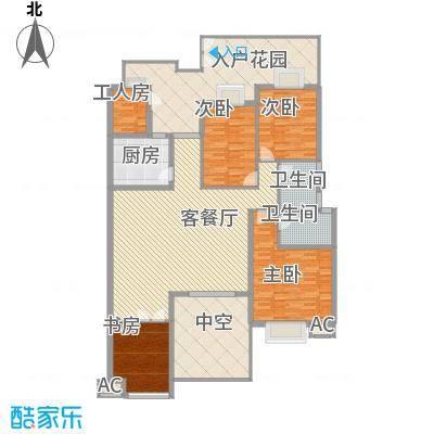 东方塞纳户型4室