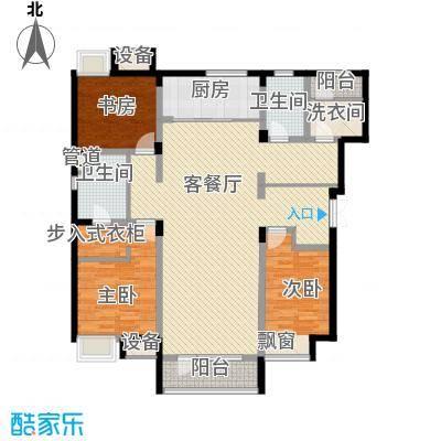 紫荆花园11.10㎡一期小高层户型3室2厅1卫