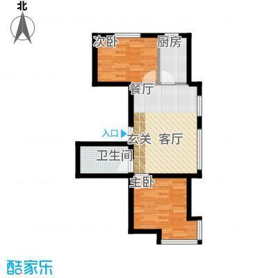 江城文苑8.10㎡高层户型