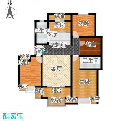 华府御墅洋房10、14、29号楼1层F-1户型