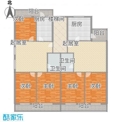 利海公寓125.40㎡一期1号楼标准层D户型3室1厅1卫1厨
