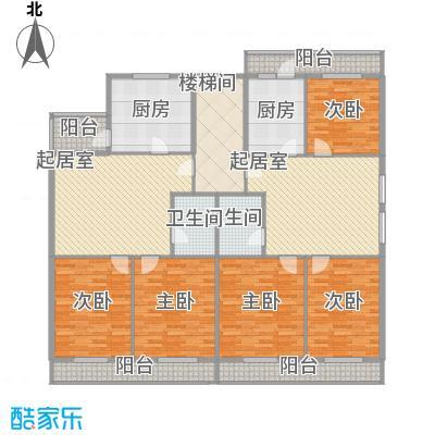 利海公寓18.50㎡一期1号楼标准层B户型2室1厅1卫1厨