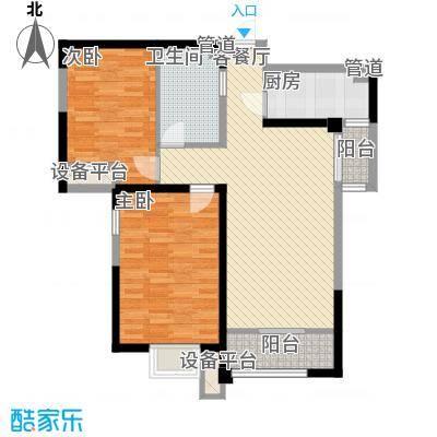 宝能城二期高层标准层F3户型