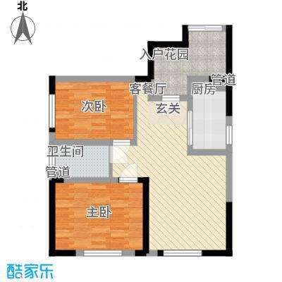 万炬智汇城一期国际公寓C区标准层C户型