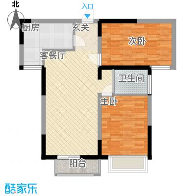 万炬智汇城一期国际公寓A区标准层A户型