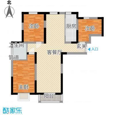 万炬智汇城一期国际公寓A区标准层B户型