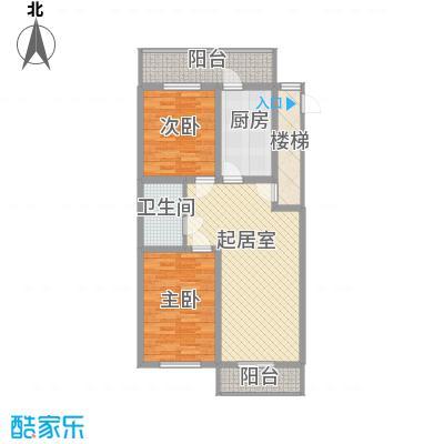 金狮温泉公寓户型2室2厅1卫1厨