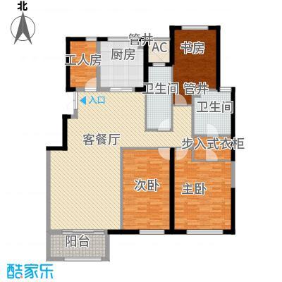 金地紫云庭18.00㎡户型3室
