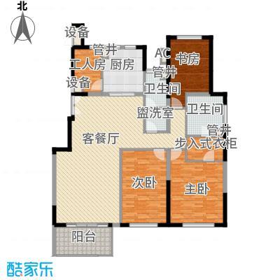 金地紫云庭16.00㎡户型3室