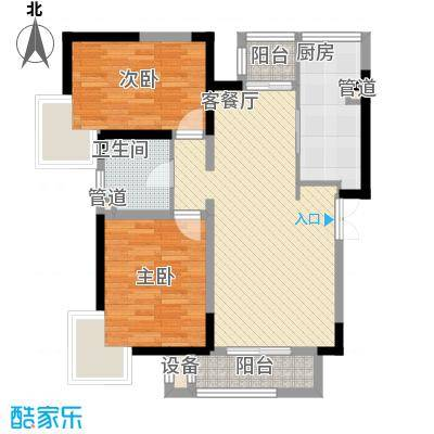 卫津领寓一期20号楼标准层c户型