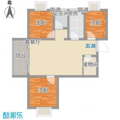 东皋明珠03户型