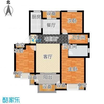 华府御墅洋房10、14、29号楼1层D1-1户型