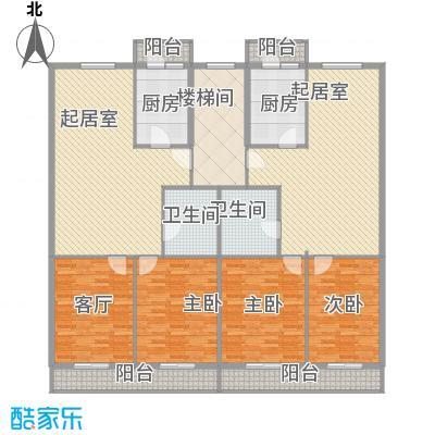 利海公寓1.28㎡一期1号楼标准层E户型2室1厅1卫1厨